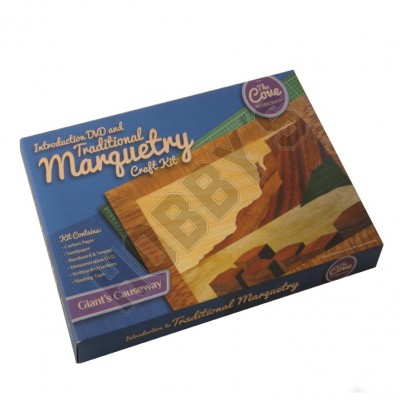 Giant's Causeway: Traditional Marquetry Craft Kit plus DVD by Cove Workshop