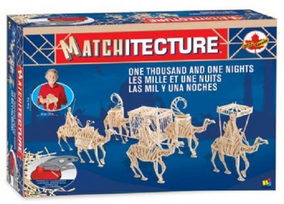 One Thousand and One Nights: Matchitecture Matchstick Model Craft Kit