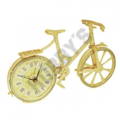 Bicycle Clock: Matchcraft Matchstick Model Craft Construction Kit by Hobby's