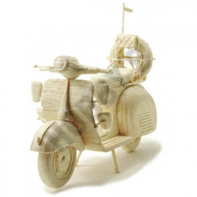 Scooter: Matchcraft Matchstick Model Craft Construction Kit Motorcycle Kit