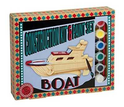 wooden boat construction kit