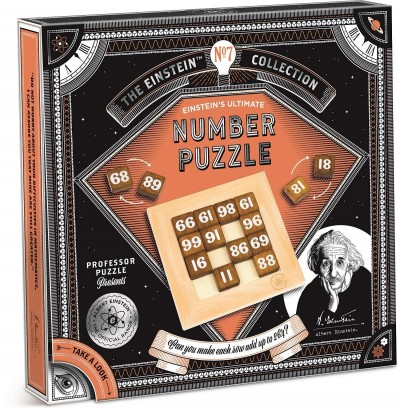 The Einstein Collection Ultimate Number Puzzle Professor Puzzle Age 8 plus
