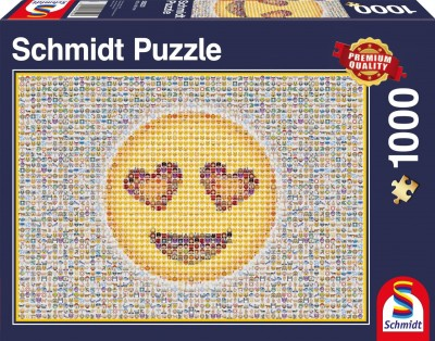 Emoticon: Schmidt  Premium Quality Jigsaw Puzzle 1000 pieces 58220