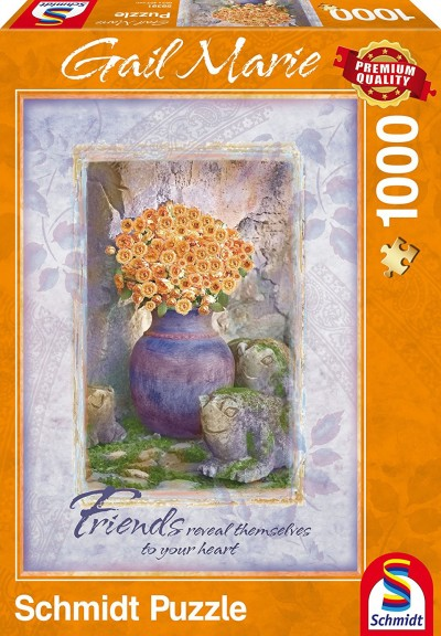 Schmidt Gail Marie Friends Premium Quality Jigsaw Puzzle - 1000-Pieces