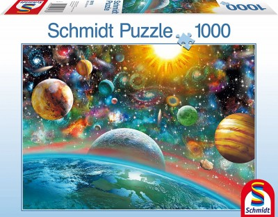 Outer Space Schmidt Surrealist Planets Jigsaw Puzzle 1000 pieces 58176