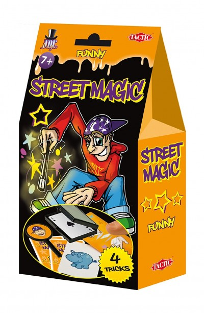 Funny Street Magic by Tactic: 4 tricks for ages 7 plus