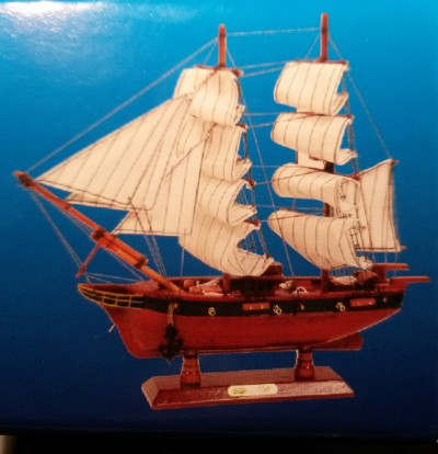 US Coast Guard Starter Boat Kit: Build Your Own Wooden Model Ship