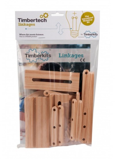 Timbertech Linkages for 1 Learner: for individual design and experimentation
