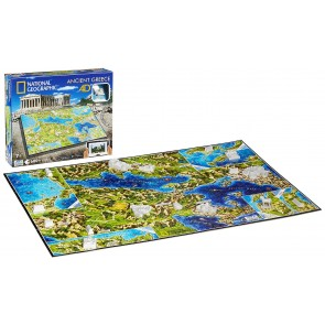 Ancient Greece: 4D Cityscape Time National Geographic Jigsaw Puzzle 600 pieces Age 7plus