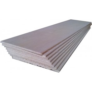 "BALSA WOOD 8 sheets 12"" x 4"" x 3/16"" (305mm x 100mm x 5mm)"