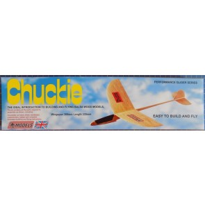 Chuckie: DPR Performance Glider Balsa Wood Model Plane Kit: Wingspan 300mm