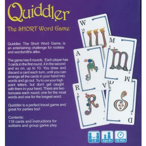 Quiddler - The Short Word Game from Esdevium Games 1-8 players Age 8 plus2