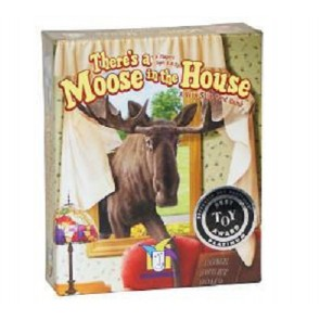 There's a Moose in the House: A very silly Card Game  Gamewright 2-5 players Age 8+2