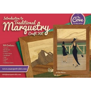At the Races: Traditional beginner Marquetry Craft Kit by Cove Workshop: Age 12 2