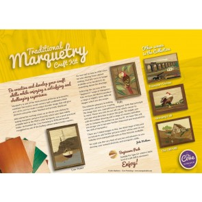 The Old Mill: Traditional Marquetry Craft Kit by Cove Workshop: Age 12 plus2