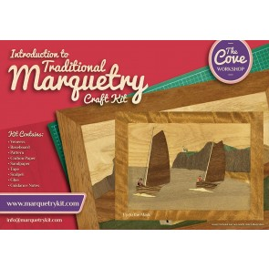 Up to the Mark: Traditional beginner Marquetry Craft Kit by Cove Workshop2