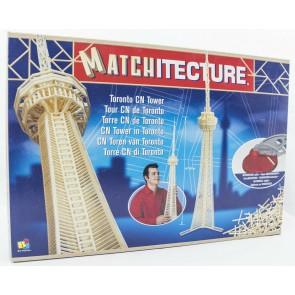 Toronto CN Tower: Matchitecture Matchstick Model Craft Construction Kit
