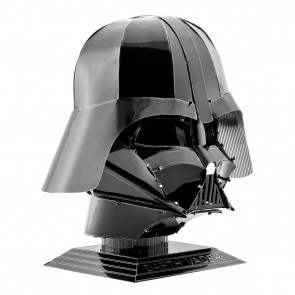 Darth Vader Helmet: Metal Earth 3D Laser Cut Star Wars Miniature Model Kit 2 she2