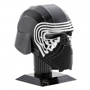 Kylo Ren Helmet: Metal Earth 3D Laser Cut Star Wars Miniature Model Kit 2 sheets2