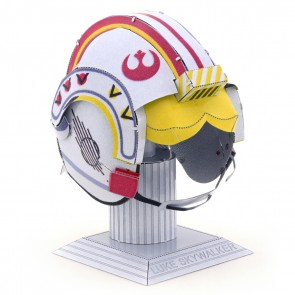 Luke Skywalker Helmet: Metal Earth 3D Laser Cut Star Wars Miniature Model Kit 2 2