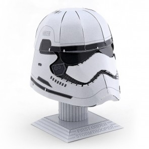 Stormtrooper Helmet: Metal Earth 3D Laser Cut Star Wars Miniature Model Kit 2 sh2