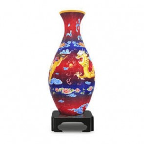 The Dragon and the Phoenix: 3D Jigsaw Puzzle Vase Pintoo 160 pieces S1002