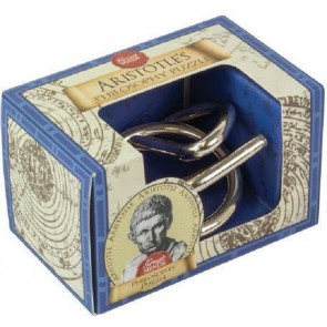 Aristotle's Philosophy Puzzle: Professor Puzzle Great Minds Mini Metal Puzzle