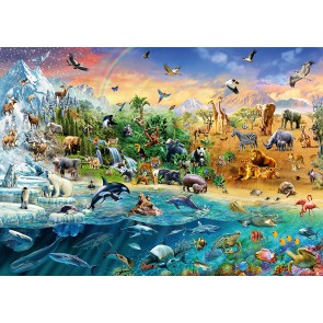 Animal Kingdom Schmidt Jigsaw Puzzle 1000 pieces 583242