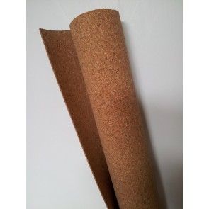 "Cork Sheet: 1/16x24""x36"" 1.5mmx610mmx914mm  model railway underlay scenery roll."
